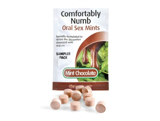 Comfortably Numb Oral Sex Mints Sampler Pack
