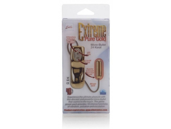 Extreme Pure Gold Micro Bullet