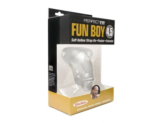 "Perfect Fit Fun Boy 4.5"" Soft Hollow Strap-On"