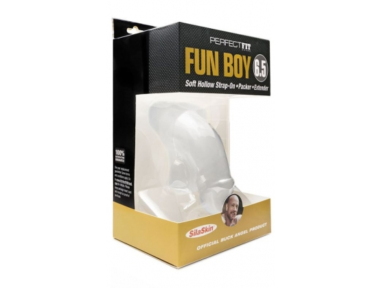 Perfect Fit Fun Boy 6.5 Inch Soft Hollow Strap-On