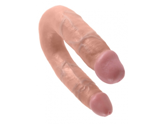 King Cock U Shaped Double Trouble Flesh