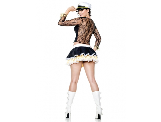 Lacy Navy Costume