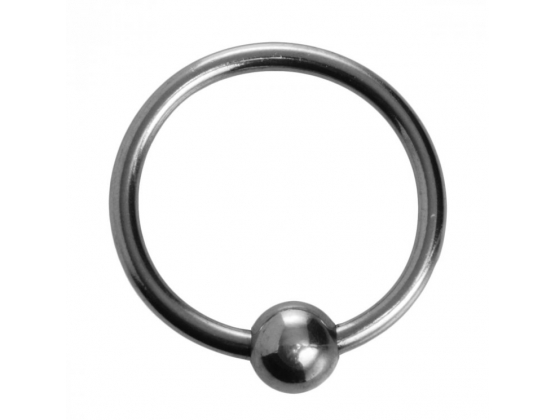 Ornata - Steel Ball Head Ring