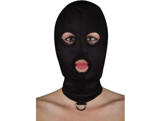 Ouch! Extreme Mesh Balaclava with D-Ring