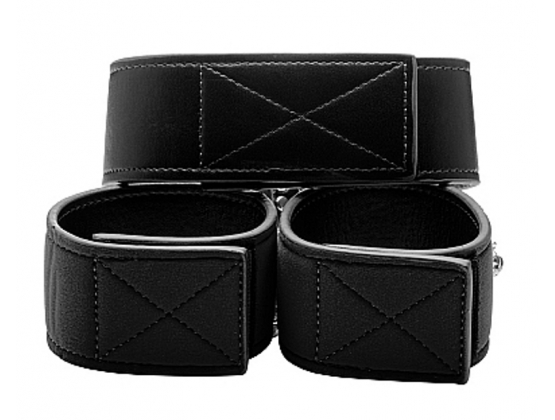 Ouch! Reversible Collar and Wrist Cuffs