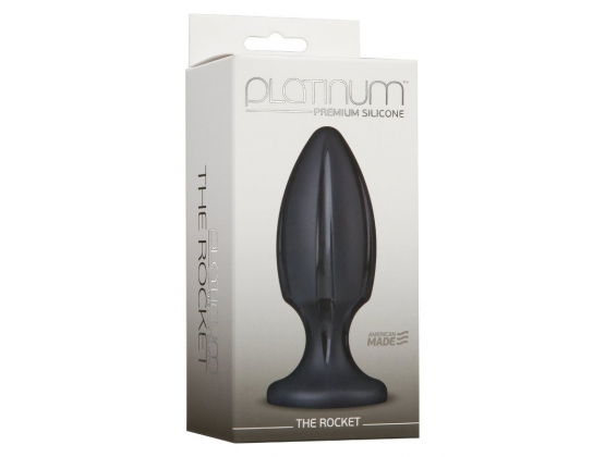 Platinum Premium Silicone The Rocket Black