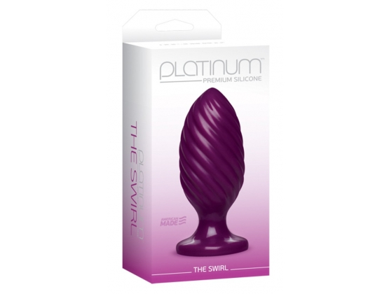 Platinum Premium Silicone The Swirl Purple