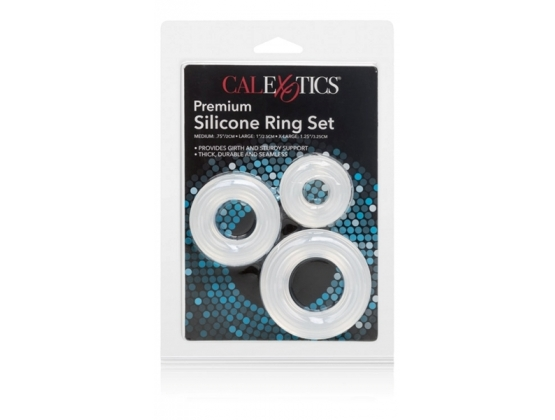 Premium Silicone Ring Set