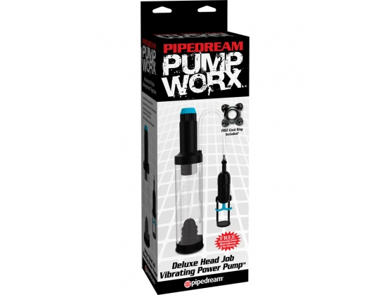 Pump Worx Deluxe Head Job Vibrating Pump