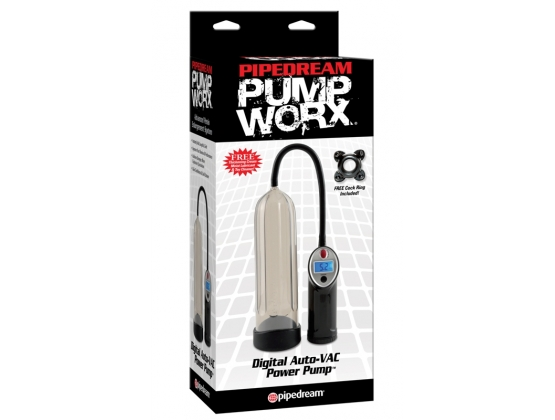 Pump Worx Digital AutoVac Power Pump