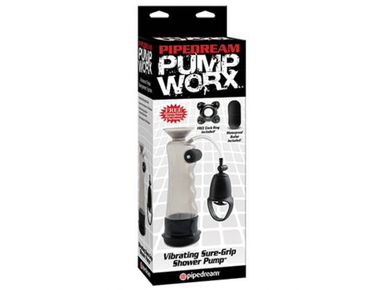 Pump Worx Vibrating Sure Grip Shower Pump