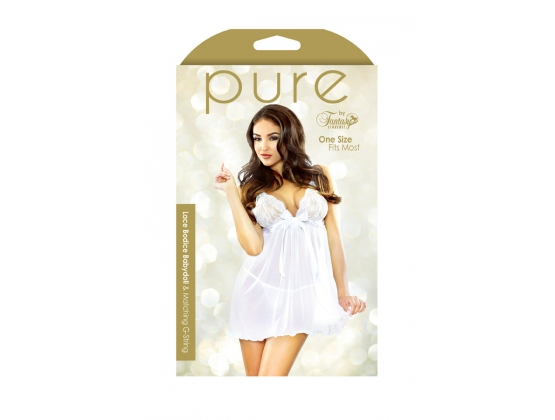 Pure Lace Bodice Babydoll & G-String