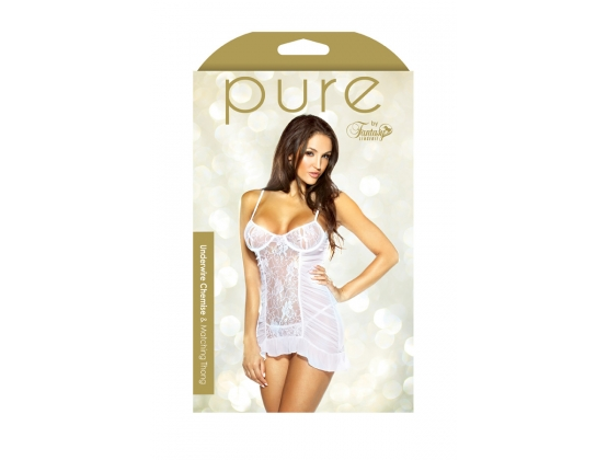 Pure Underwire Chemise & Matching Thong