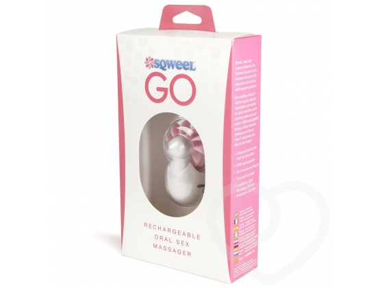 Sqweel Go USB Rechargeable Oral Sex Massager