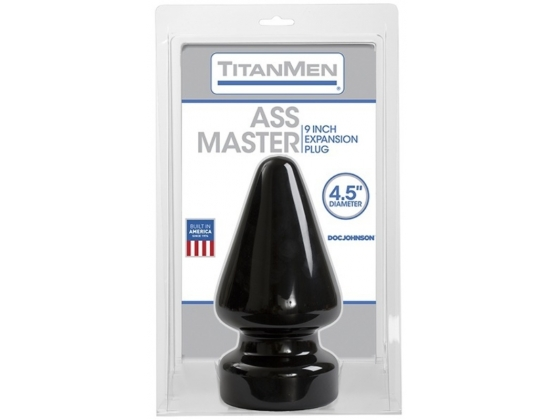 TitanMen Tools Ass Master Butt Plug