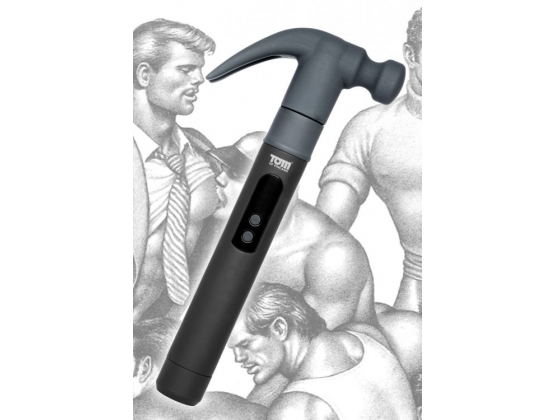 Tom of Finland Night Stick and Hammer 2 Interchangeable Heads