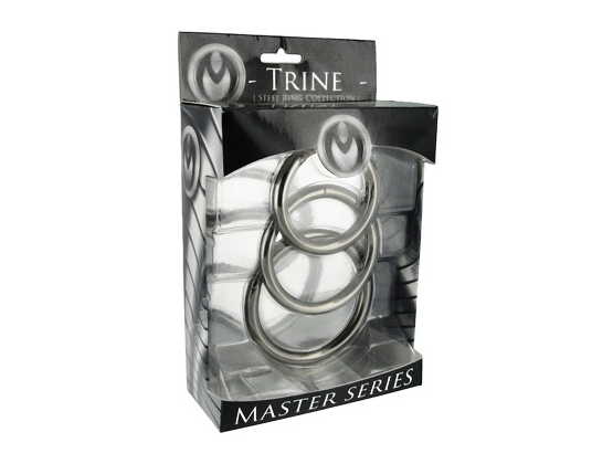 Trine Steel C-Ring Collection