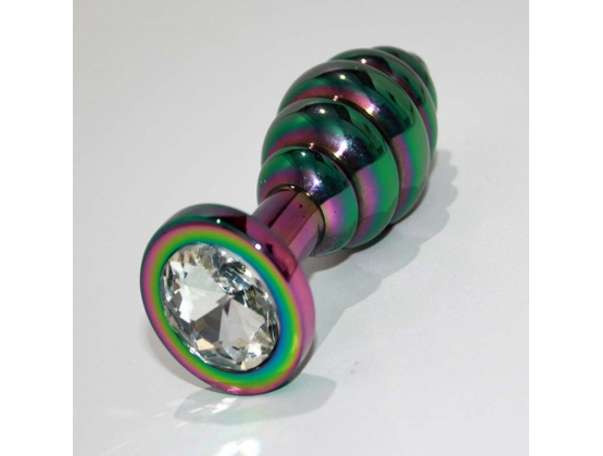 Rainbow Wild Passion Butt Plug Small