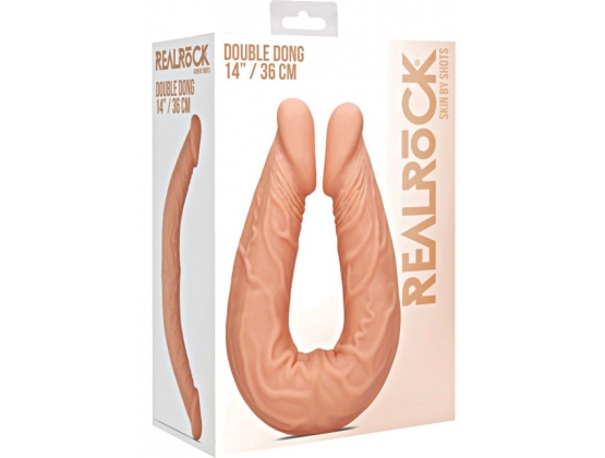 Real Rock Double Dong 14 inch