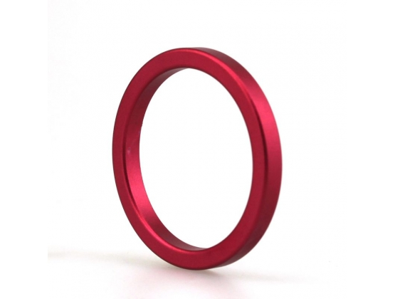 Aluminum Colored Cock Ring Large