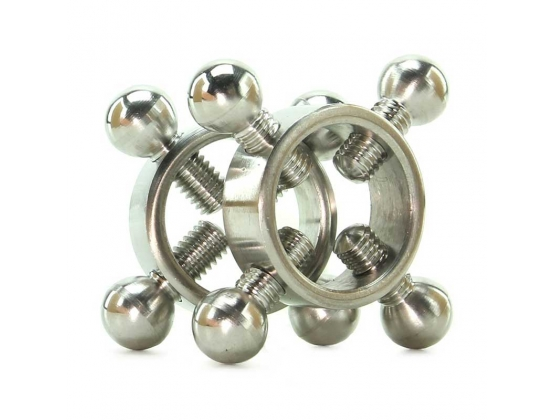 Rings Of Fire Stainless Steel Nipple Press Set