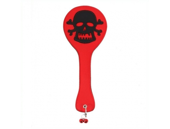 Round Paddle With Skull