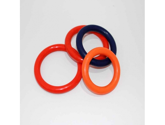 Cock & Ball Rubber Ring 70mm Diameter