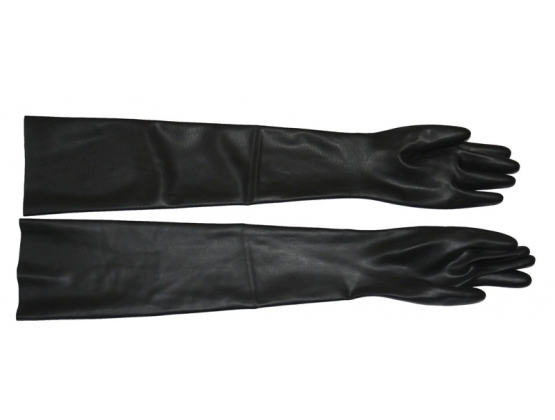 Saxenfelt Latex Long Gloves Medium