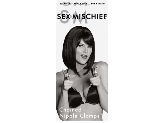 Sex & Mischief Chained Nipple Clamps