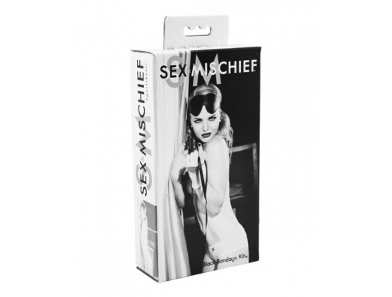 Sex & Mischief Bondage Kit Black