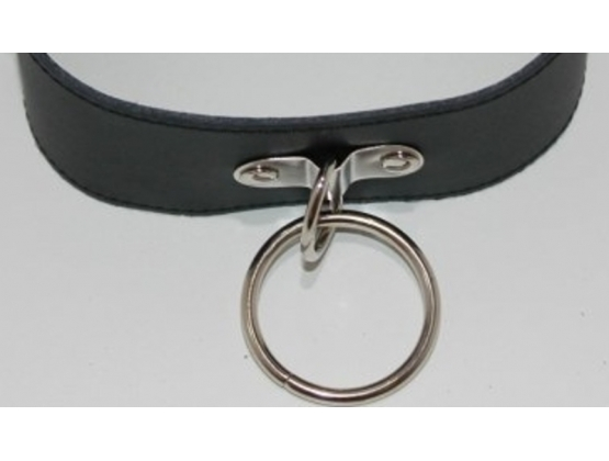 SirN Adjustable Bondage Collar Light PVC