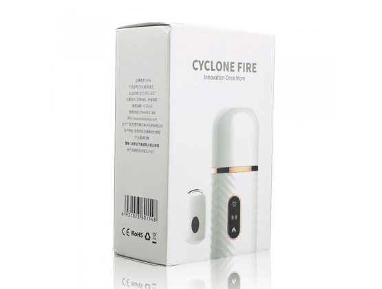 Cyclone Fire Sex Machine With Heating Function