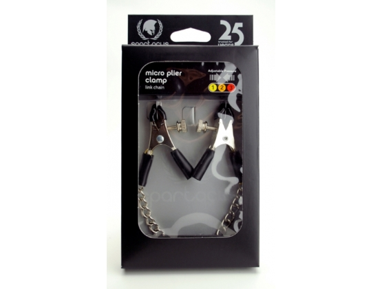Spartacus Adjustable Micro Plier Clamps with Link Chain