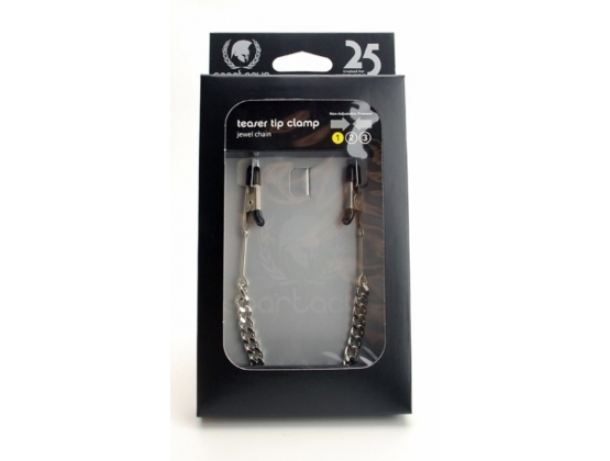 Spartacus Endurance Teaser Tip Clamps with Jewel Chain