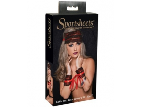 Sportsheets Satin and Lace Lovers Kit