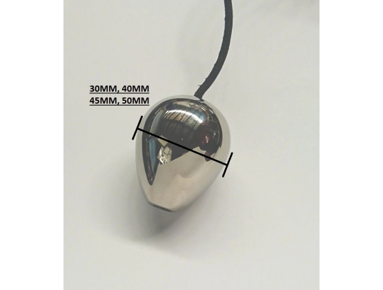 Stainless Steel Anal Egg