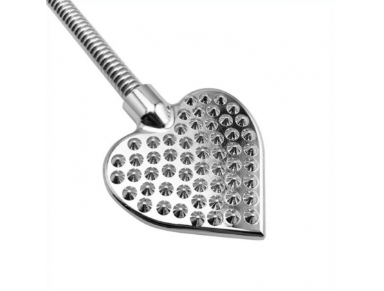 Heart Shaped Steel Paddle