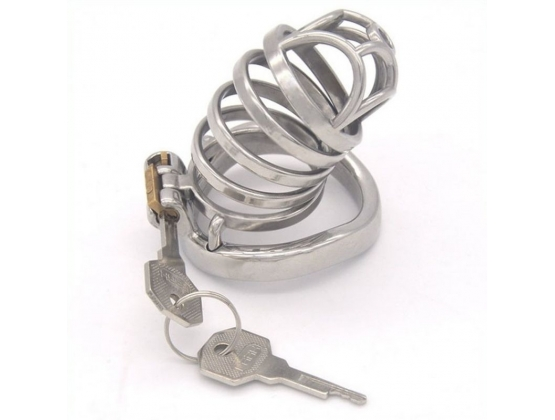 Rhombic Bend Male Chastity Cock Cage