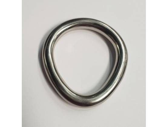 Flared Aluminium Cock Ring Large