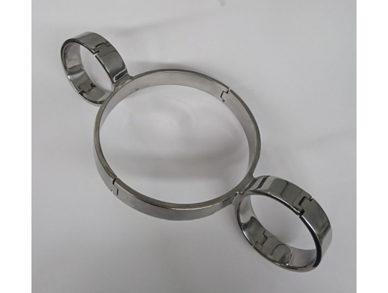 Steel Slave Collar & Cuffs