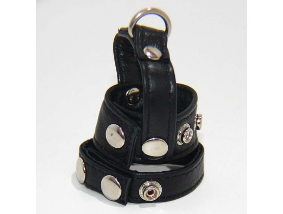 Strap-on Cock and Ball Harness