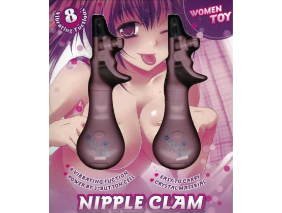 8 Vibrating Function Nipple Clamps