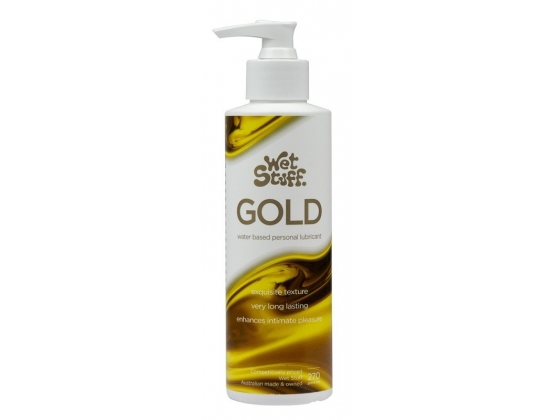 Wet Stuff Gold Lubricant Pump Top