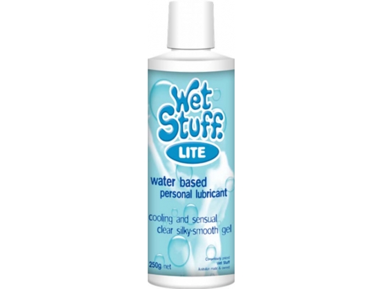Wet Stuff Lite Water Base Lubricant