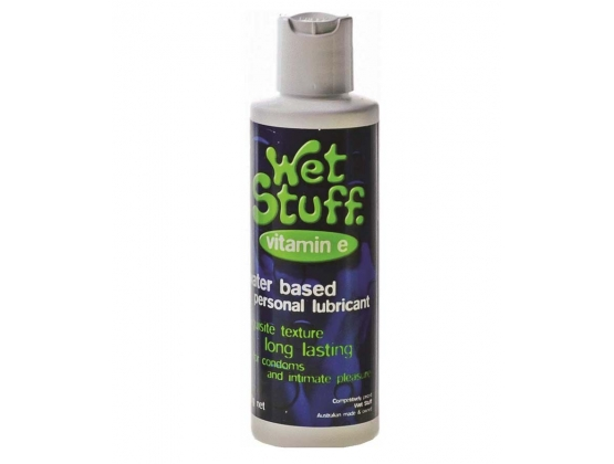 Wet Stuff With Vitamin E Lubricant Disc Top
