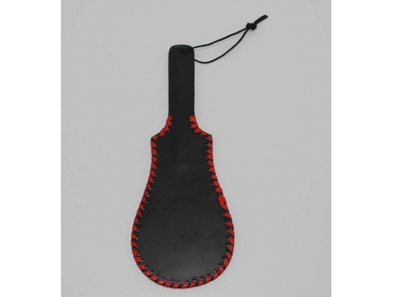Whipped Ass Oval Leather Paddle 35cm