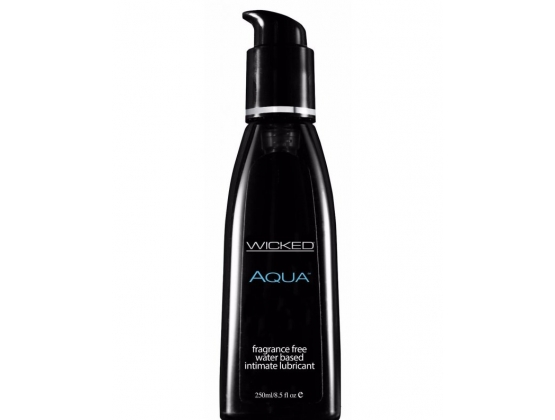 Wicked Aqua Unscented Lubricant