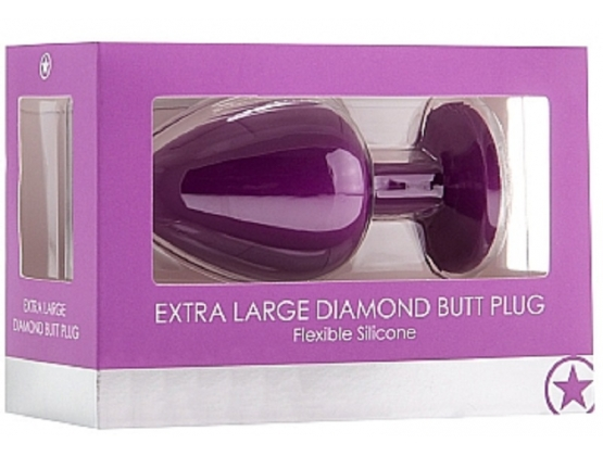 Ouch! Extra Large Diamond Butt Plug