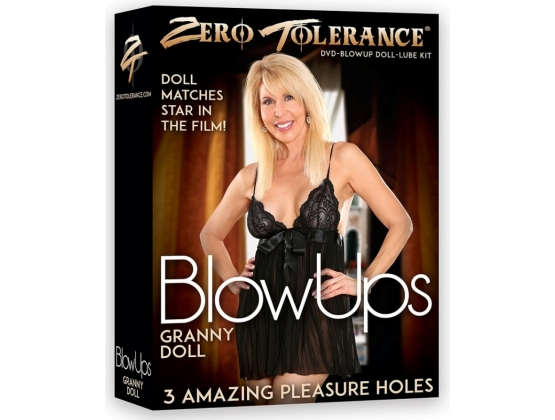 Zero Tolerance BlowUps Granny Doll