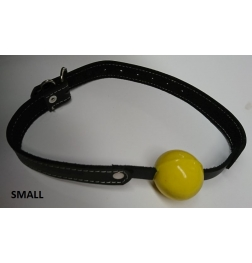 Amour Bondage Gag & Yellow Rubber Ball